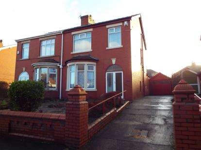 3 Bedrooms Semi Detached House for sale in Preston Old Road, Blackpool, Lancashire, FY3
