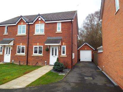 2 Bedrooms Semi Detached House for sale in Bilberry Grove, Buckley, Flintshire, CH7