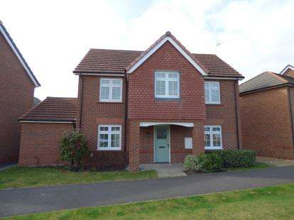 4 Bedrooms Detached House for sale in Hardwick Drive, Gwersyllt, Wrexham, Wrecsam, LL11