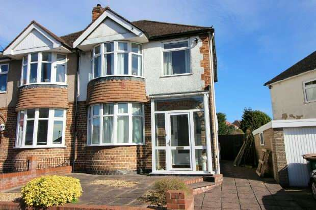3 Bedrooms Semi Detached House for sale in Woodstock Road, Cheylesmore, Coventry