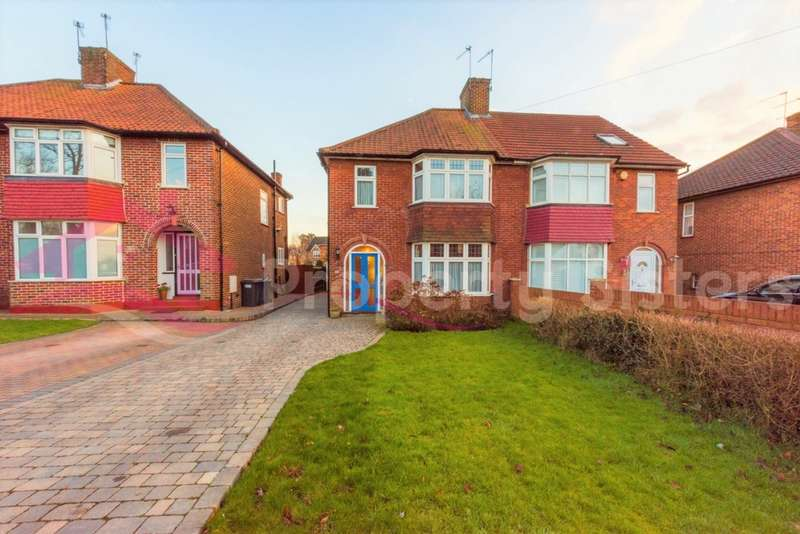 4 Bedrooms Semi Detached House for sale in Bunns Lane, Mill Hill, NW7