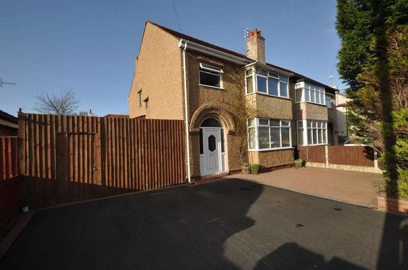 3 Bedrooms Semi Detached House for sale in Tintern Drive, Wirral, CH46 0PJ