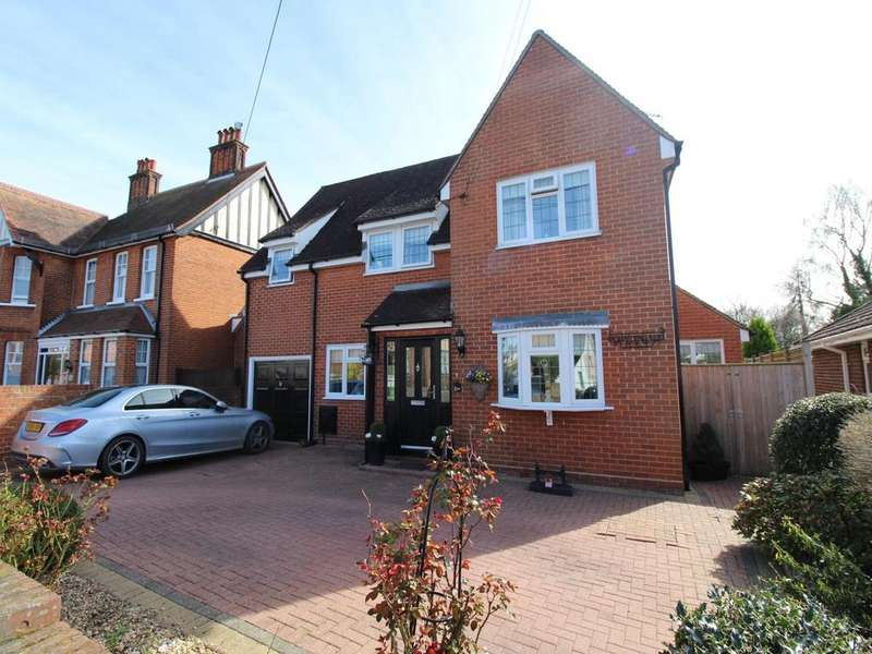 4 Bedrooms Detached House for sale in Chalks Road, Witham, Essex, CM8