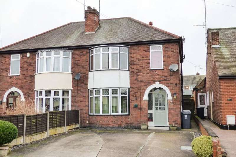 3 Bedrooms Semi Detached House for sale in Harlaxton Street, Burton upon Trent