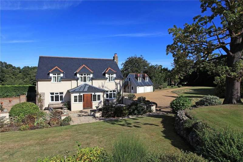4 Bedrooms Detached House for sale in Aldon Lane, Offham, West Malling, Kent, ME19
