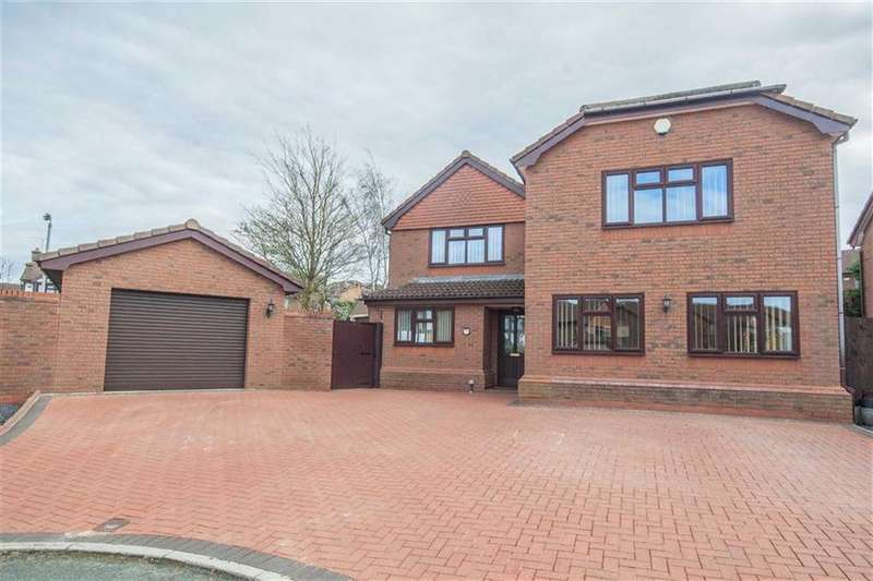 4 Bedrooms Detached House for sale in Twain Close, Hawarden, Flintshire, Hawarden, Flintshire