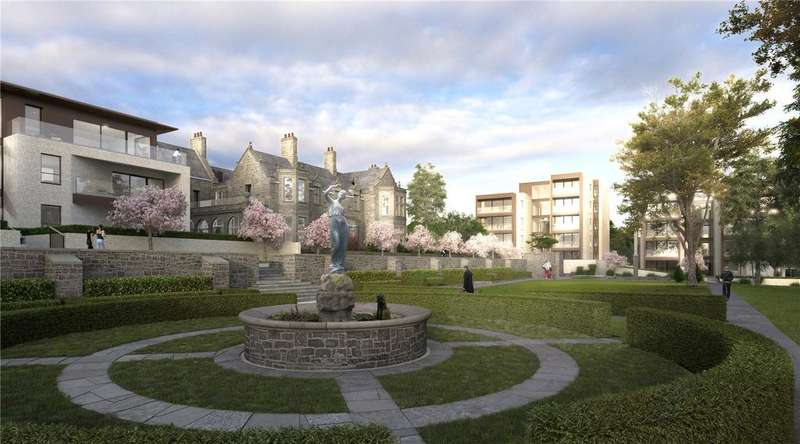 4 Bedrooms Penthouse Flat for sale in C12 Westerlea Gardens, Ellersly Road, Edinburgh, Midlothian