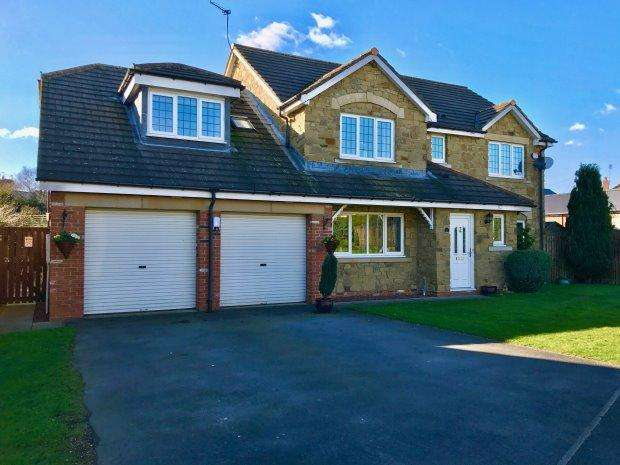 5 Bedrooms Detached House for sale in PRIORY GARDENS, WILLINGTON, BISHOP AUCKLAND