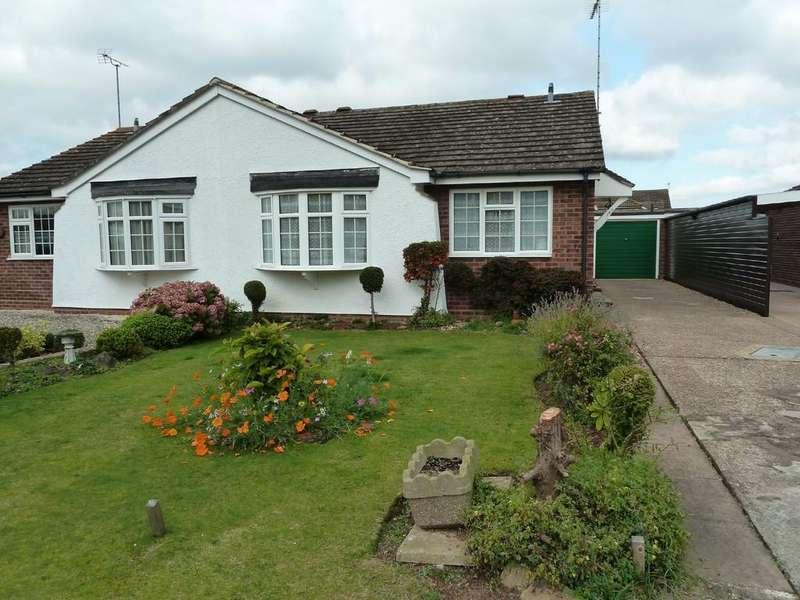 2 Bedrooms Semi Detached Bungalow for sale in Dovehouse Drive, Wellesbourne