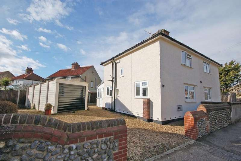 2 Bedrooms Semi Detached House for sale in Cromer Road, Sheringham