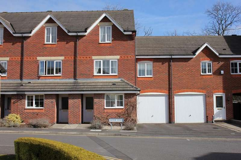 3 Bedrooms Town House for sale in Adam Dale, Loughborough