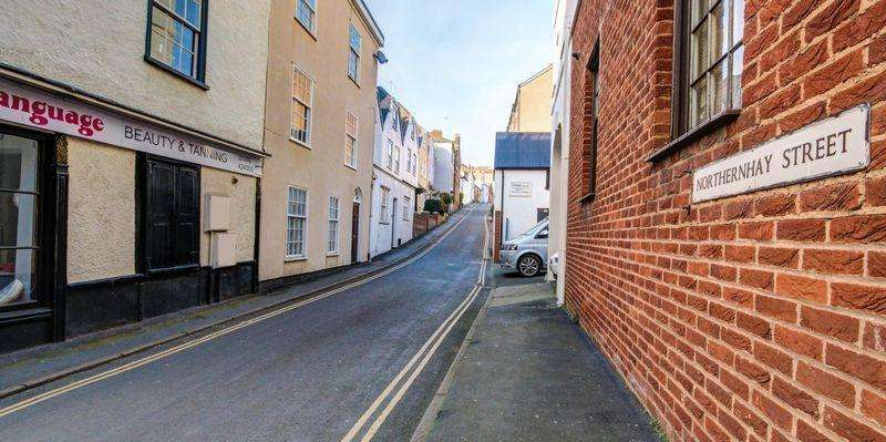 Studio Flat for sale in Northernhay Street, Exeter