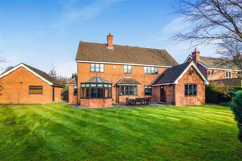 5 Bedrooms Detached House for sale in Eyebrook Road, Bowdon, Cheshire, WA14