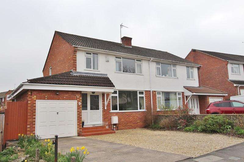 3 Bedrooms Semi Detached House for sale in Chandag Road, Keynsham, Bristol