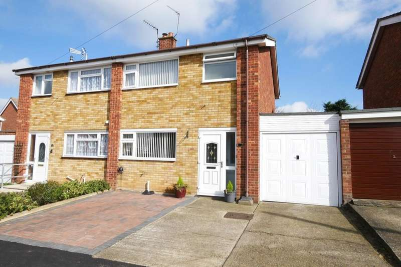 3 Bedrooms Semi Detached House for sale in Kempton Road, Ipswich