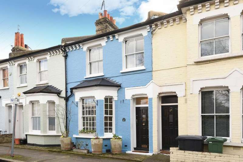 4 Bedrooms Terraced House for sale in Meadow Place, Vauxhall, SW8