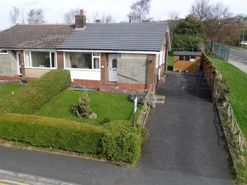 2 Bedrooms Semi Detached Bungalow for sale in Kingsdale Avenue, Burnley, Lancashire