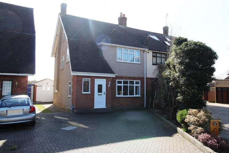 5 Bedrooms Semi Detached House for sale in Chelmer Road, Upminster, Essex, RM14
