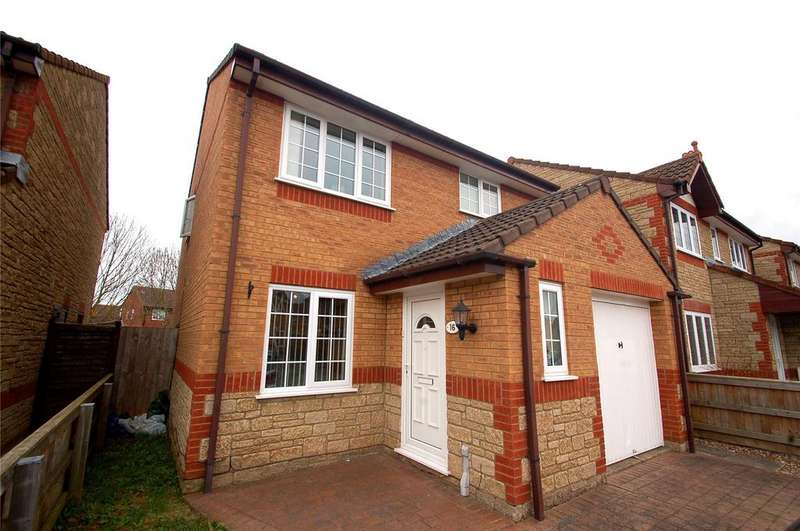 3 Bedrooms Detached House for sale in Stanley Close, Bridgwater, Somerset, TA6