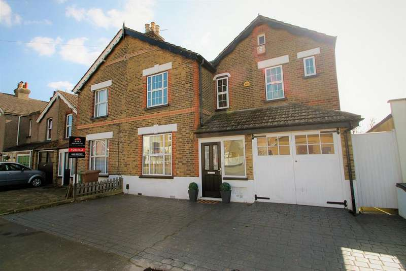 4 Bedrooms Semi Detached House for sale in Heathfield Road, Bexleyheath, Kent, DA6 8NP