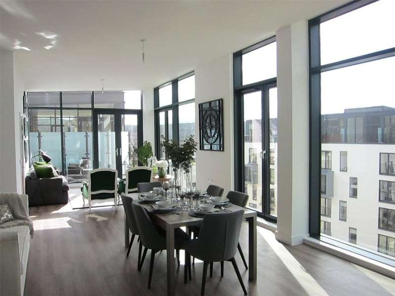 2 Bedrooms Terraced House for sale in Penthouse 6081, Leopold House, Bath Riverside, Bath, BA2