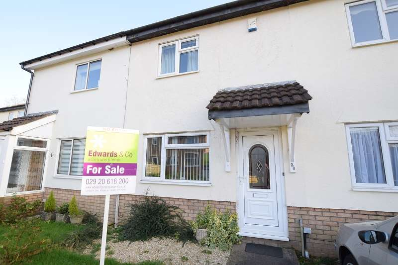 2 Bedrooms Terraced House for sale in Oakridge , Thornhill, Cardiff. CF14 9BQ