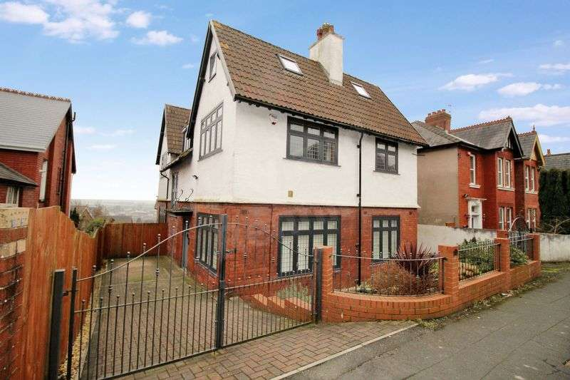 4 Bedrooms Detached House for sale in Dewsland Park Road, St Woolos, Newport