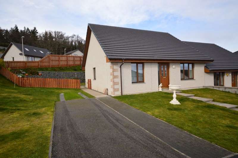 3 Bedrooms Semi Detached Bungalow for sale in Brude's Hill, Inverness, IV3