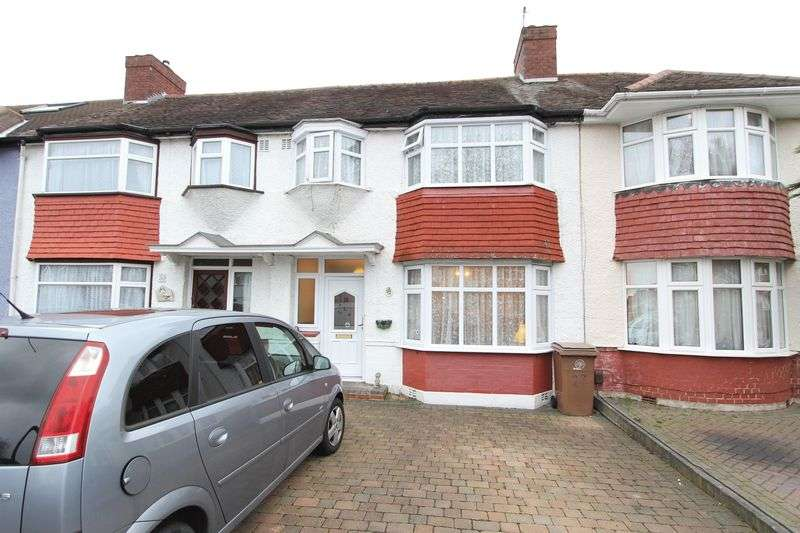 3 Bedrooms Terraced House for sale in Walton Avenue, Cheam