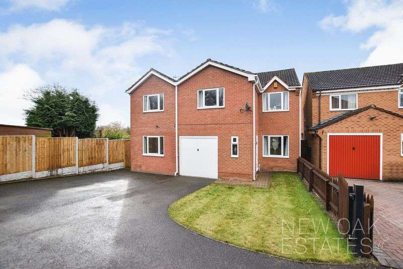 5 Bedrooms Detached House for sale in Colliers Way, Clay Cross