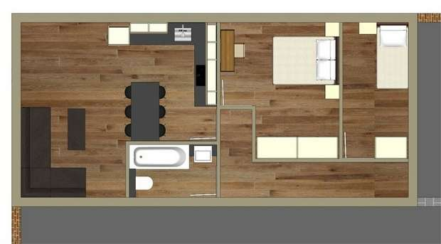 2 Bedrooms Commercial Property