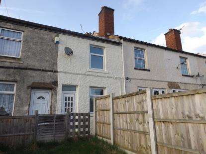 3 Bedrooms Terraced House for sale in Bainbridge Terrace, Huthwaite, Sutton-In-Ashfield, Notts