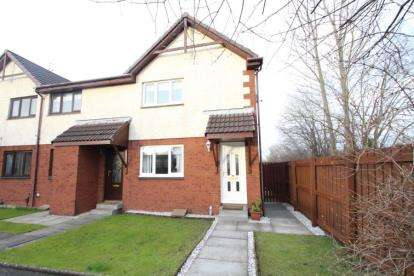 2 Bedrooms End Of Terrace House for sale in Mellerstain Drive, Yoker, Glasgow