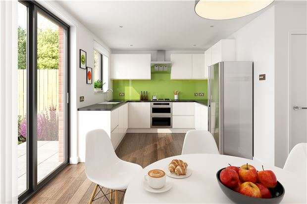 4 Bedrooms Property for sale in Plot 1 Greville Mews, Greville Road, Southville, BRISTOL, BS3 1LL