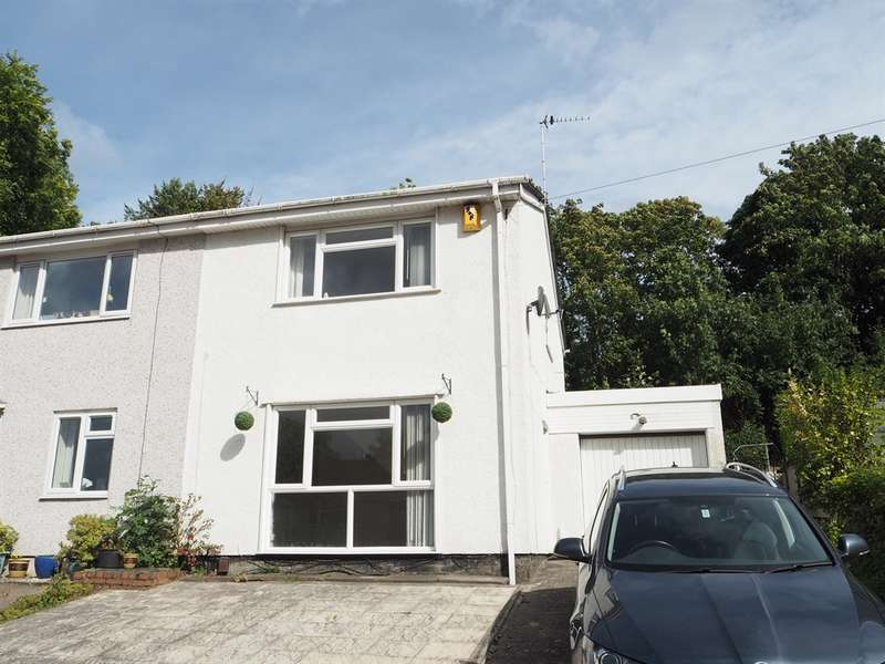 3 Bedrooms Semi Detached House for sale in Parklands Close, Rogerstone, NEWPORT