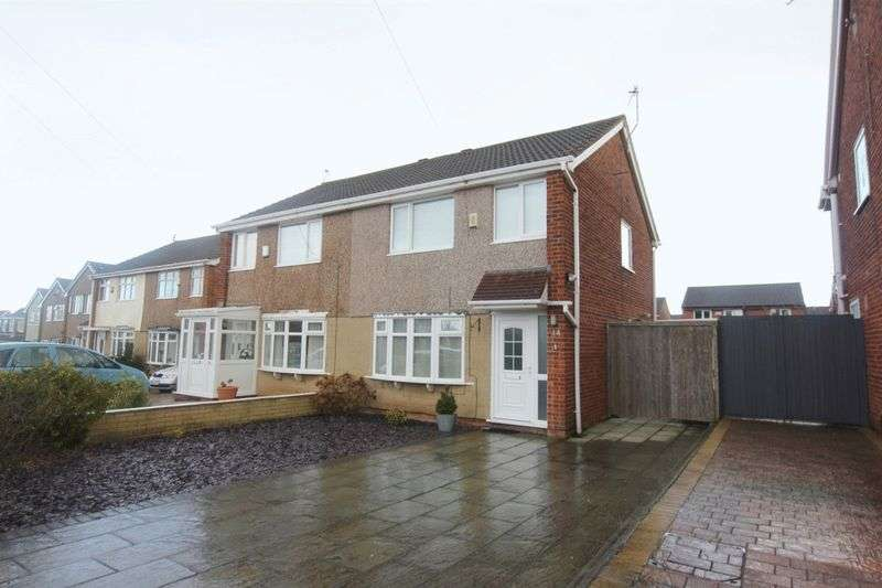 3 Bedrooms Semi Detached House for sale in Kingfisher Way, Saughall Massie, Wirral