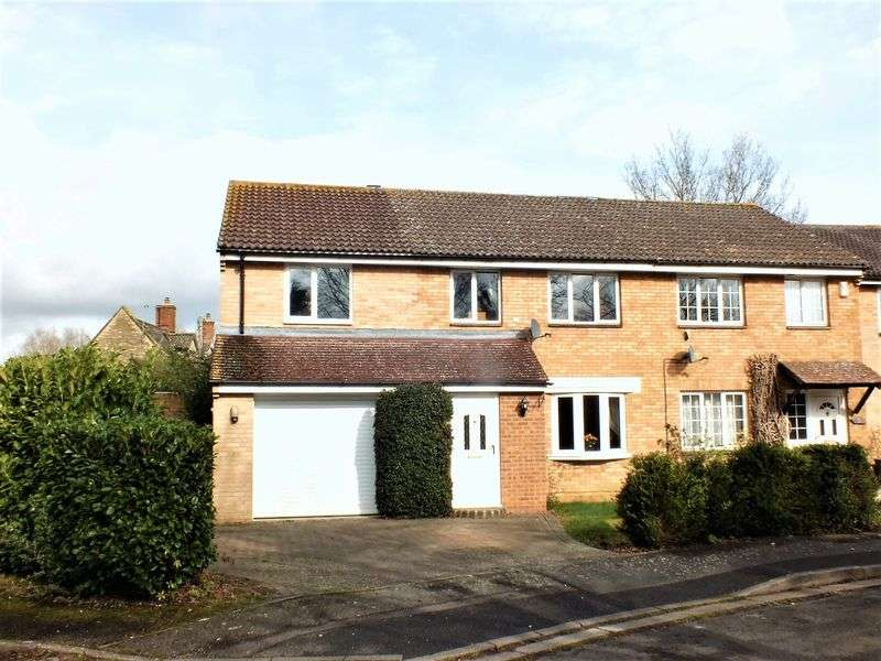 4 Bedrooms Semi Detached House for sale in Marsh Close, Yarnton