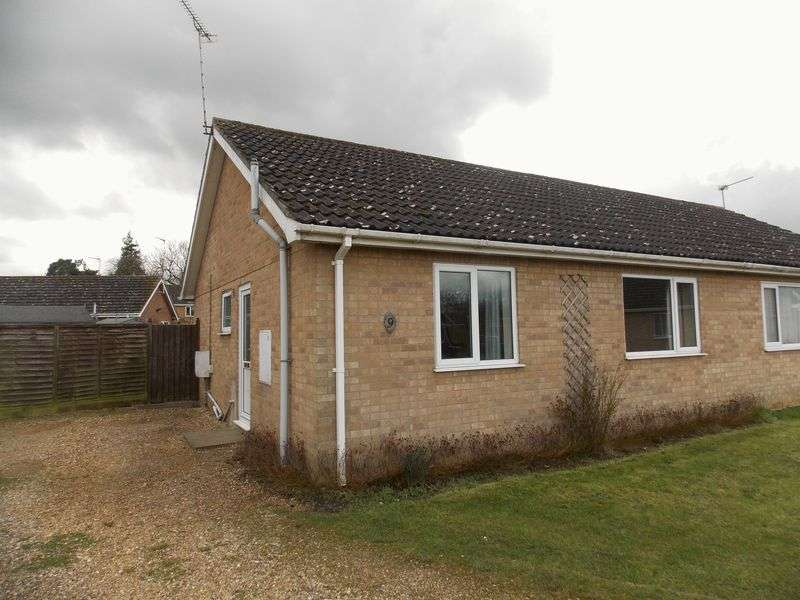 2 Bedrooms Semi Detached Bungalow for sale in Victoria Close, Thurston