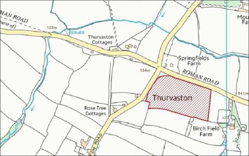 Property for sale in 5.56 acres (2.25 Ha), Marston Mongomery