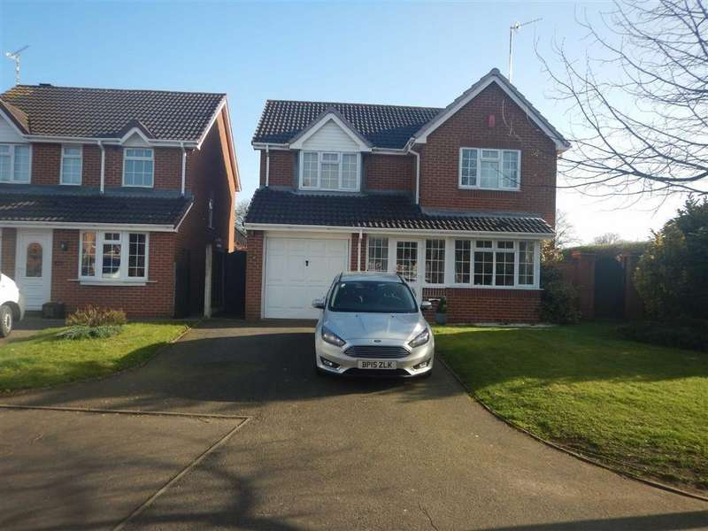 4 Bedrooms Detached House for sale in Ribbonfields, Nuneaton, Warwickshire, CV11