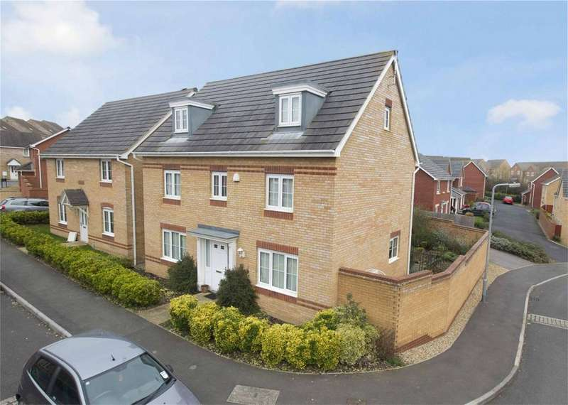 5 Bedrooms Detached House for sale in Haydock Close, Corby, Northamptonshire
