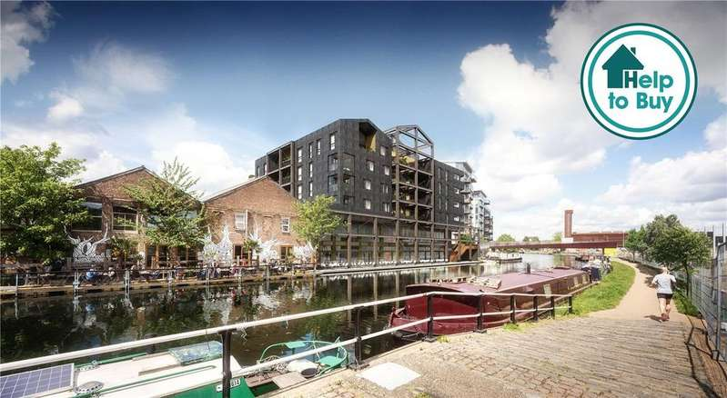1 Bedroom Apartment Flat for sale in Carpenters Wharf, Fish Island, E3