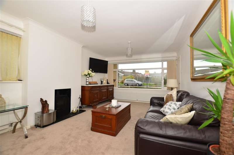 2 Bedrooms Bungalow for sale in Ellison Close, Chestfield, Whitstable, Kent