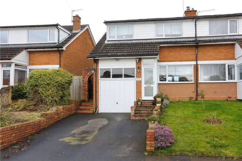 3 Bedrooms Semi Detached House for sale in Fairfield Road, Bournheath, Bromsgrove, Worcestershire, B61