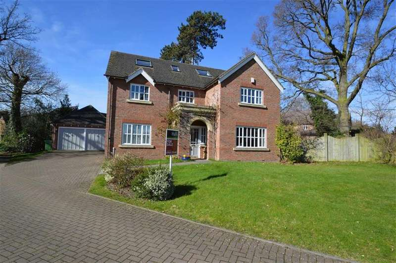 5 Bedrooms Detached House for sale in 2, Shelton Hall Gardens, Shrewsbury, SY3