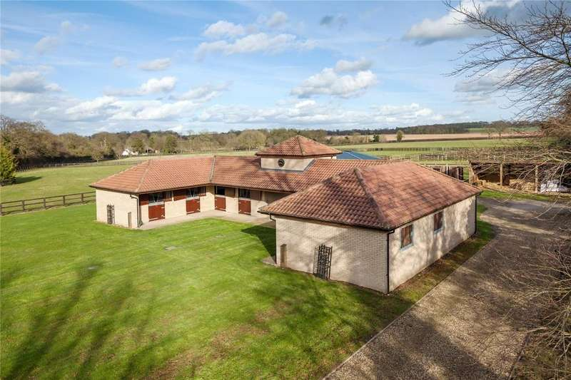 3 Bedrooms Equestrian Facility Character Property for sale in Station Road, Dullingham, Newmarket, Suffolk, CB8