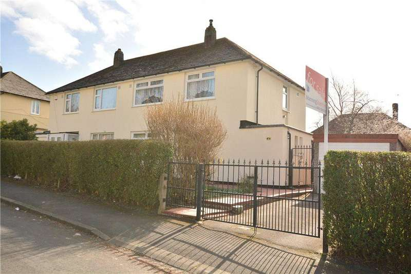 3 Bedrooms Semi Detached House for sale in Tynwald Mount, Leeds, West Yorkshire