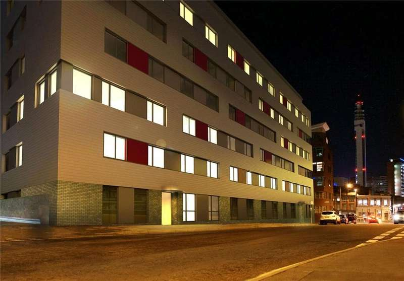 1 Bedroom Flat for sale in Honduras Wharf, Summer Lane, Birmingham City Centre, West Midlands, B19