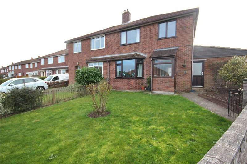 3 Bedrooms Semi Detached House for sale in Emlyn Avenue, Hereford, HR4