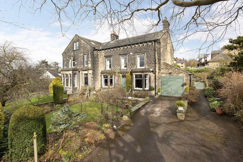4 Bedrooms Semi Detached House for sale in Kelcliffe Lane, Guiseley